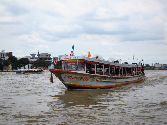 Water taxi in Bangkok
