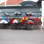 Cyclos in Yogyakarta