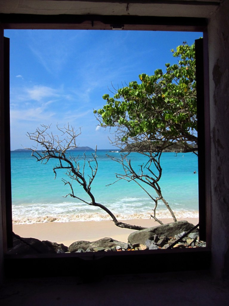 Window to Cinnamon Bay