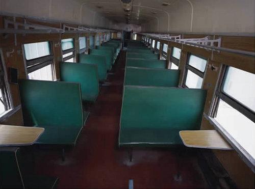 Configuration of a Hard Seat Train