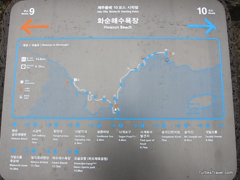 Olle Trail Map