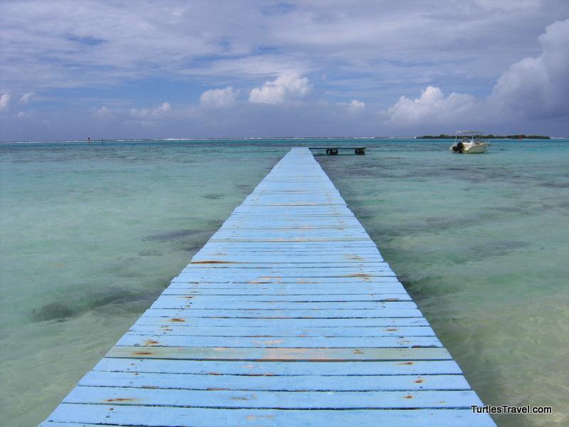 Dock, Moorea, French Polynesia
