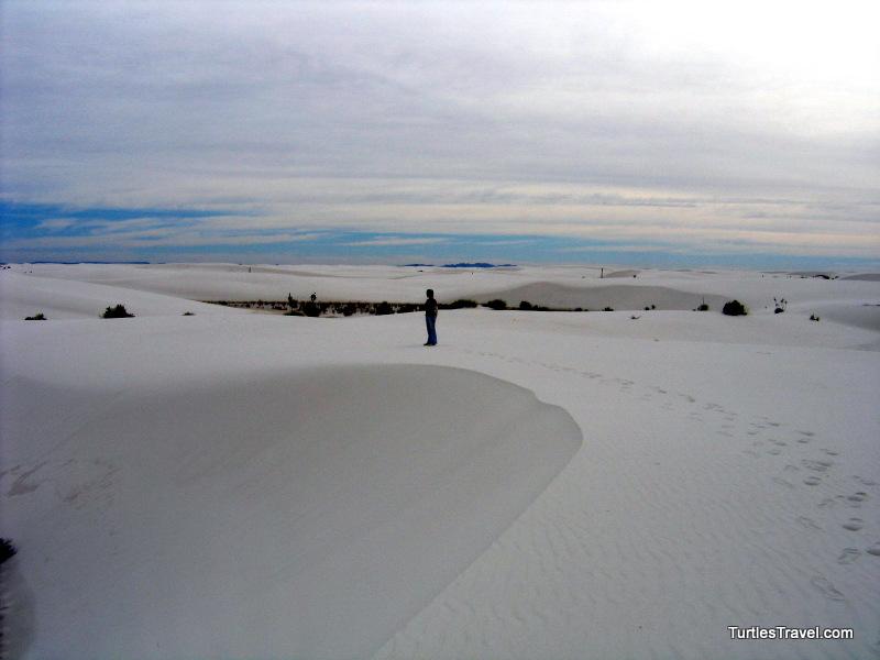 T at White Sand