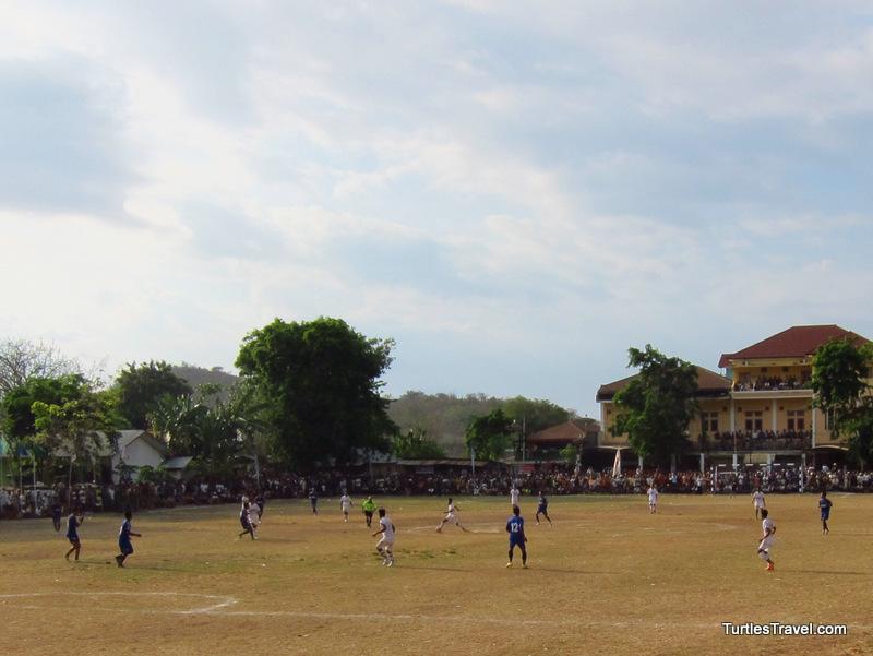 Labuan Bajo Soccer Match