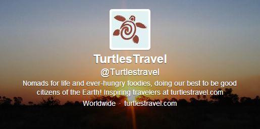 Twitter hashtags for travel