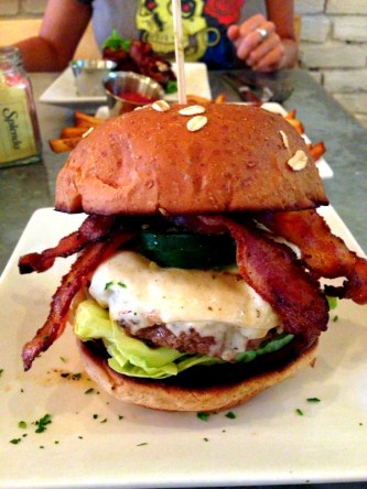 """The Pancho"" Burger"