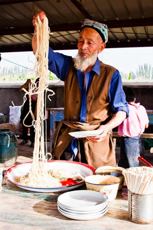 Noodles in Xinjiang
