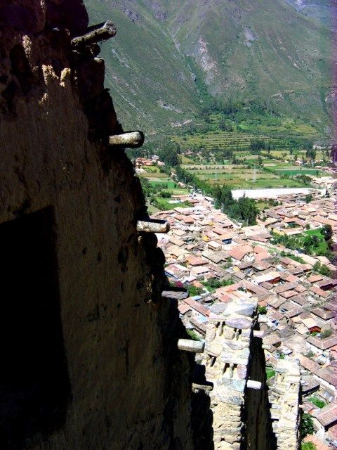 Down to Ollantaytambo
