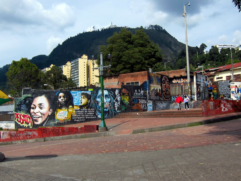 Grafitti in La Candelaria