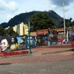 Bogota Street Art: Downtown near University