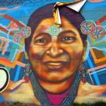 Mural on Calle 26, Bogota