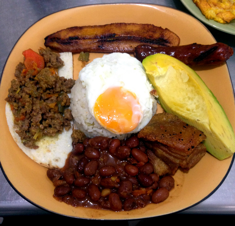 April: Bandeja Paisa
