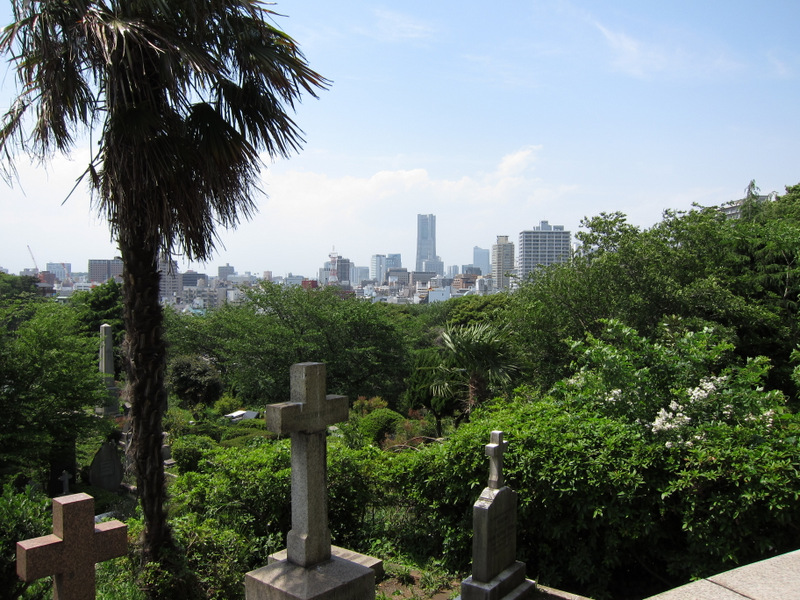 Foreigners Cemetery in Yokohama, Japan