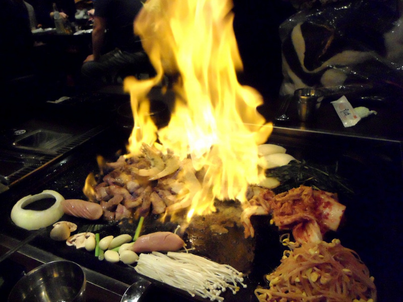 Korean Barbeque, food for thought