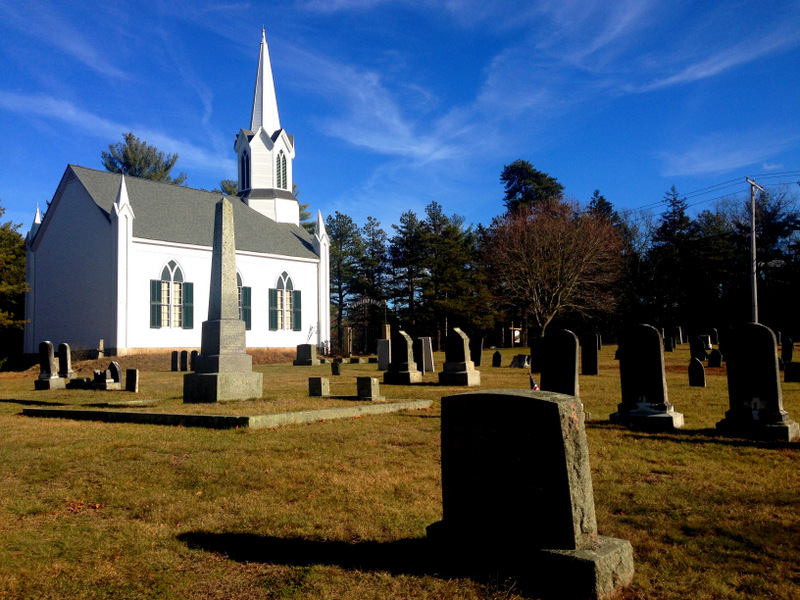 Union Church and cemetery, Carver, MA