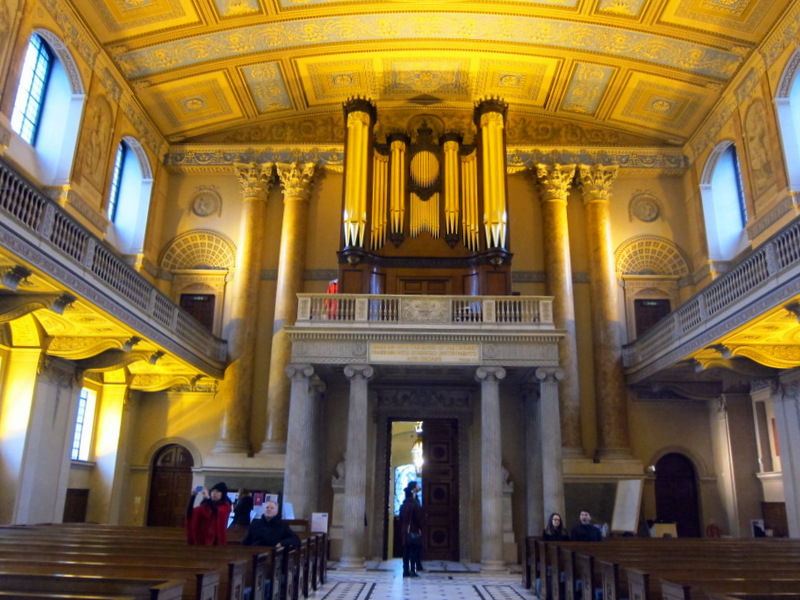 Chapel at Royal Naval College