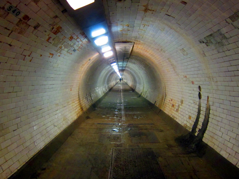 Tunnel of Greenwich Foot Path