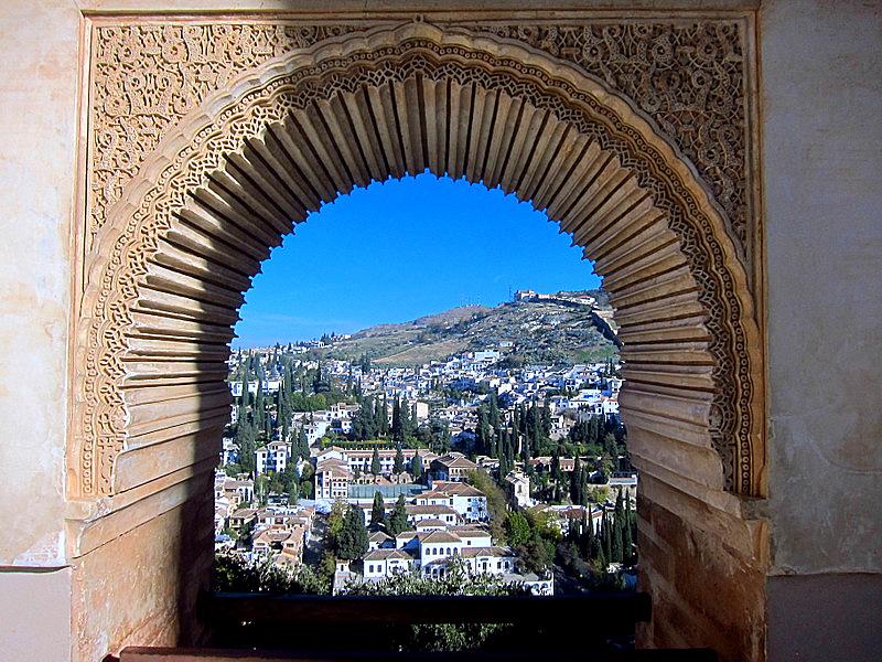 Albayzin from Alhambra