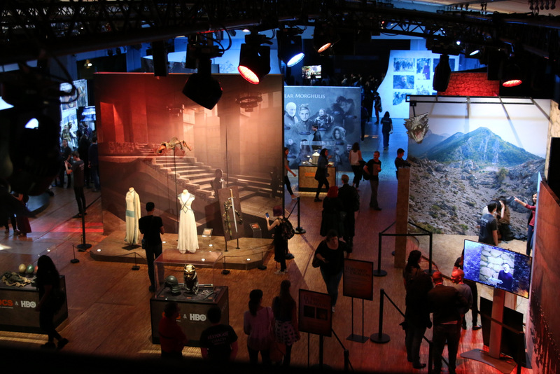 Games of Thrones Exhibition Overview