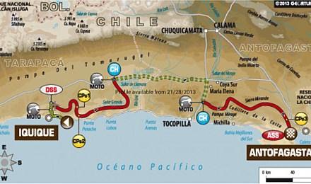 Dakar etap 10: Iquique – Antofagasta