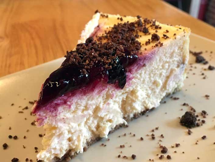 Tarta de queso de Tingana, un pecado venial