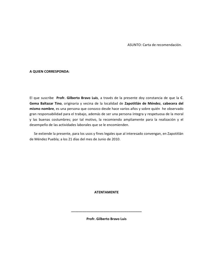 Imágenes de carta de recomendación Imágenes