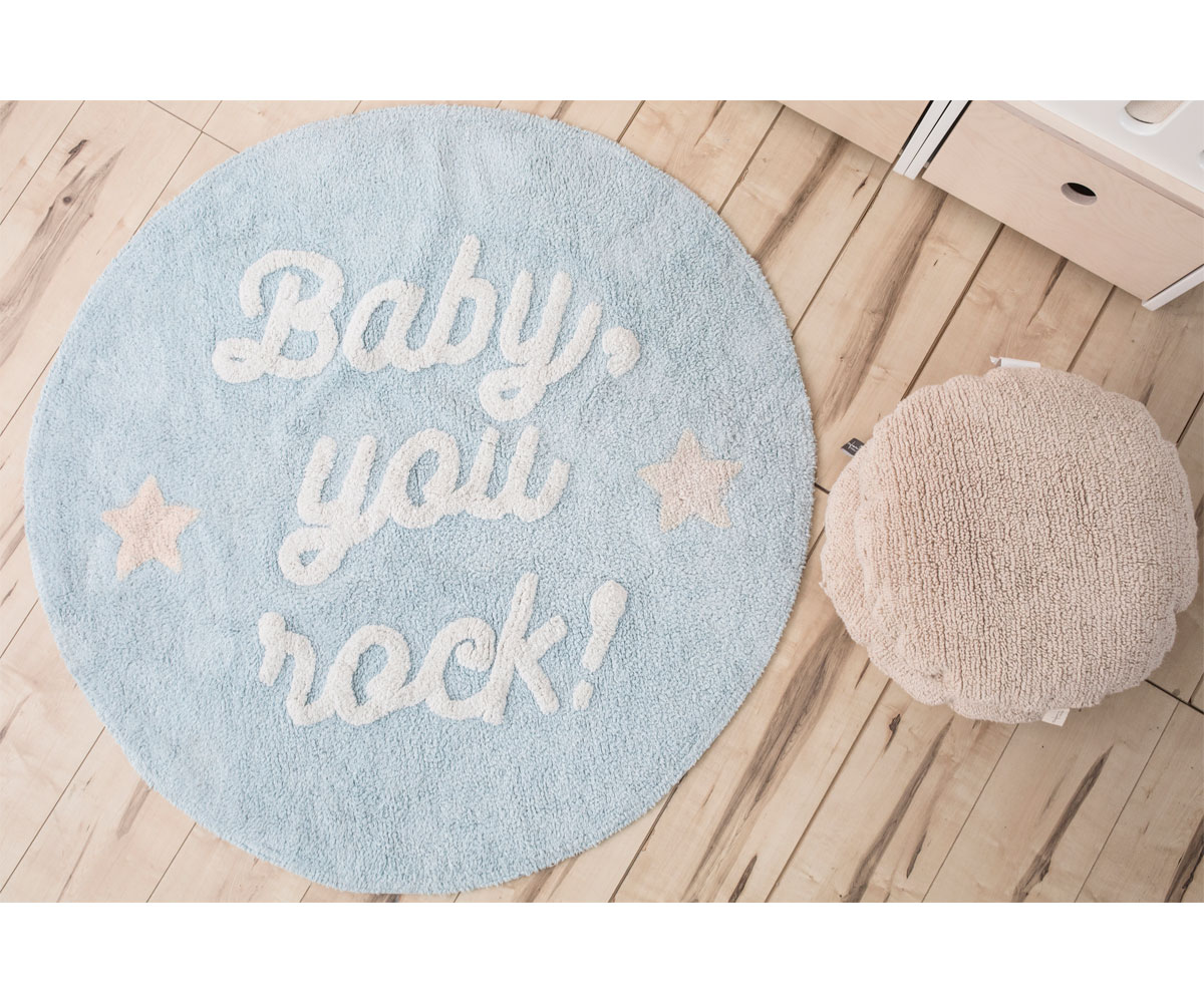 Alfombras Lavables Lorena Canals Alfombra Lavable Lorena Canals Baby You Rock By Mr Wonderful