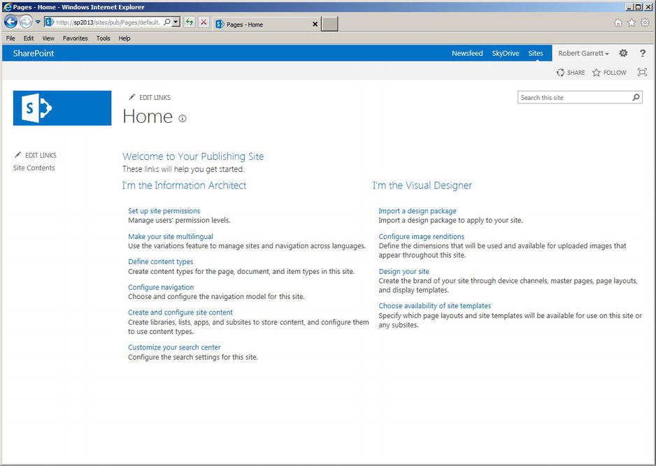 Sharepoint 2013  Branding with the Design Manager (part 1