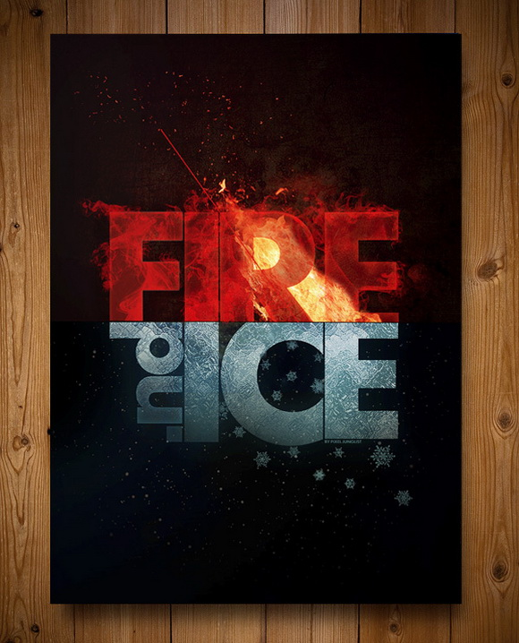 Fire and Ice Party Invitations Fire and Ice Invitations   - christmas dinner invitations templates free