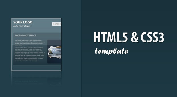 Html 5 Css Coding A Css3 & Html5 One-page Website Template - Tutorialzine
