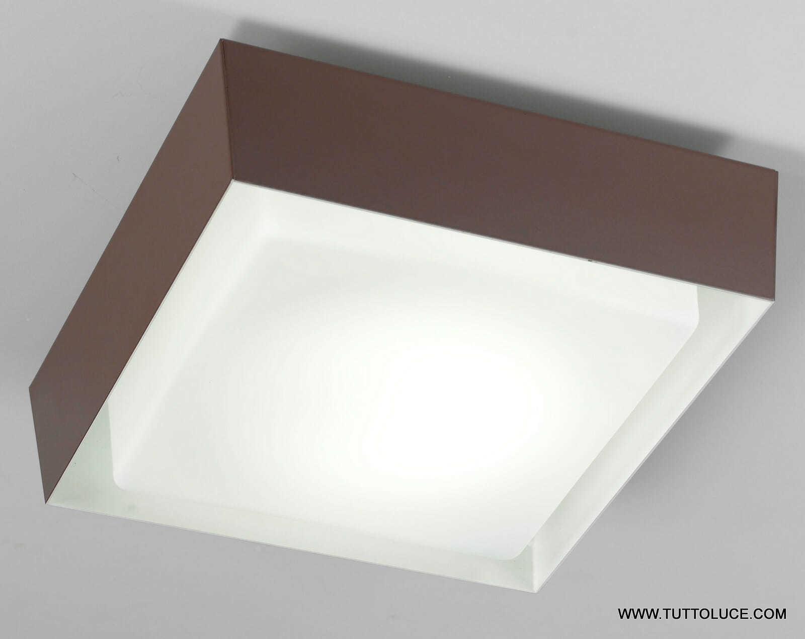 Plafoniere Led Moderne Da Soffitto : Lampade moderne da soffitto in vetro