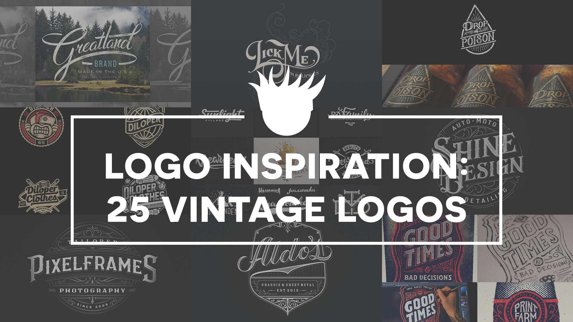 Bad Vintage Style 25 Beautiful Vintage Logos For Design Inspiration