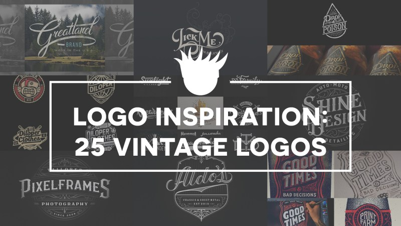 25 Beautiful Vintage Logos for Design Inspiration