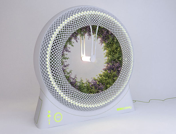 Lampe Culture Indoor Green Wheel Revolutionary Rotary Hydroponic System By