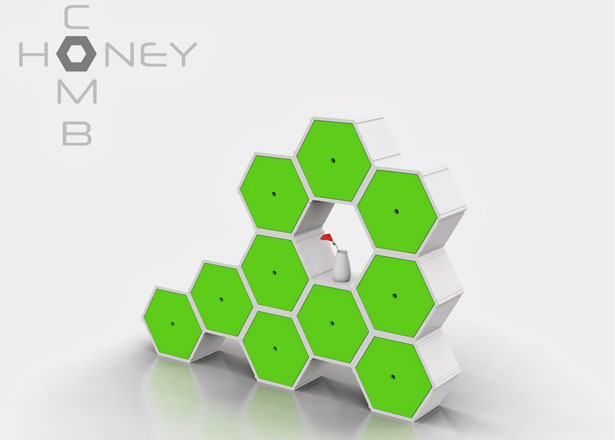 Expandable Table Honeycomb Modular Furniture System By Nyadadesign - Tuvie