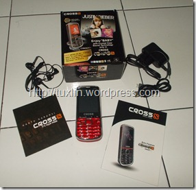 [REVIEW] Cross G900T*, Ponsel Lokal Bersuara Mini Compo (5/6)