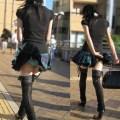 【パンチラ画像】若い女の子が風のハプニングでパンチラになる画像を集めた結果ww