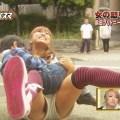 【放送事故画像】これ最高!テレビに映ったショートパンツの隙間ww