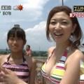 【放送事故画像】夏の思い出といえばやっぱり水着美女達?ww