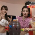 【おへそキャプ画像】テレビに映る美女のおへそが可愛くてイヤラシイ件www