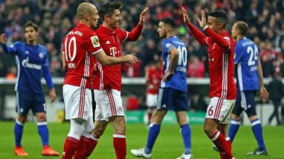 Highlights: FC Bayern vs. Schalke 04