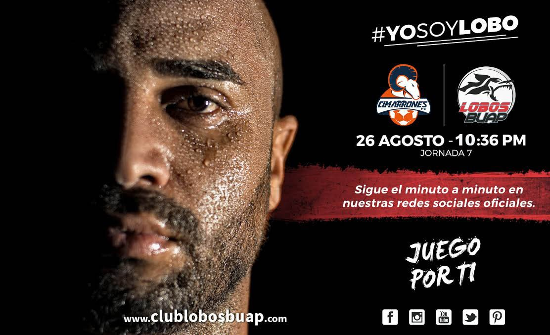 Cimarrones vs Lobos BUAP en Vivo Ascenso MX 2016