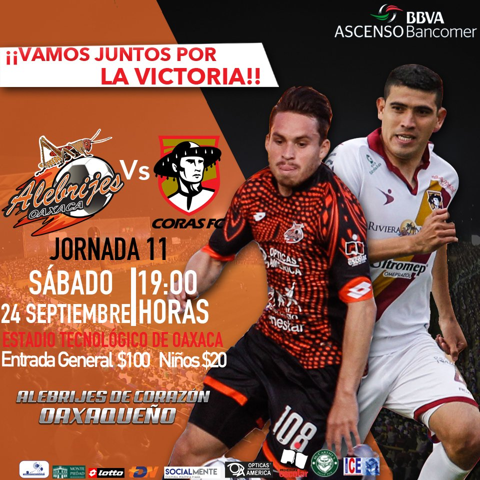 Alebrijes vs Coras en Vivo Ascenso MX 2016
