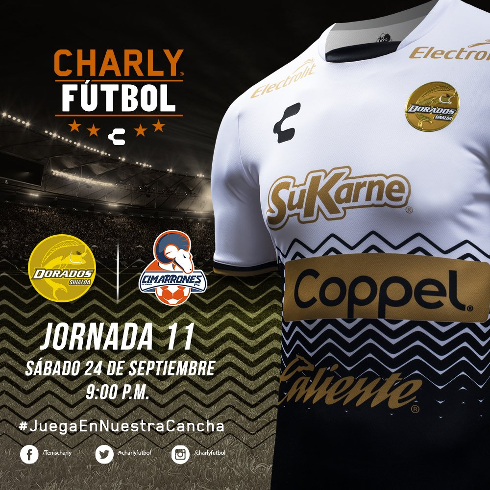 Dorados vs Cimarrones en Vivo Ascenso MX 2016