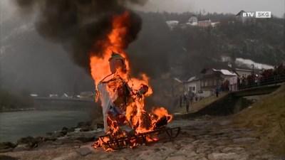 Das alljährliche Fetzen verbrennen | SW 08-2018 | SALZKAMMERGUT | TV1