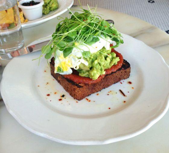 avocado toast, tipsy parson