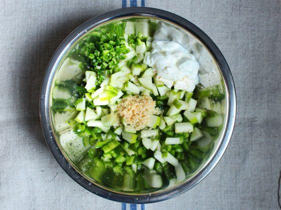 ingredients, mixing bowl