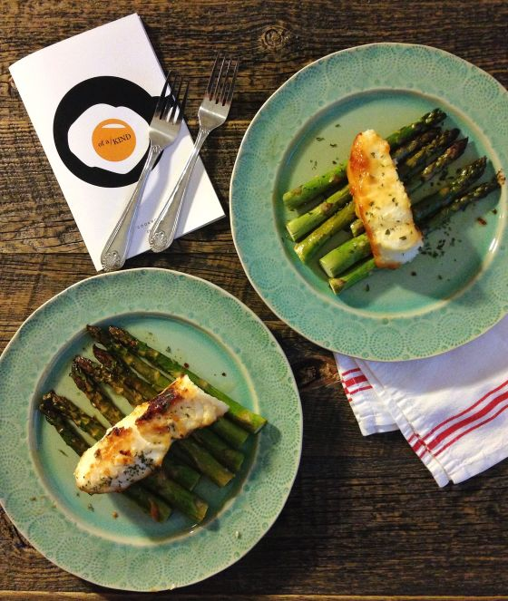 miso sea bass + roasted asparagus | TV Dinner -- healthy recipes for ...
