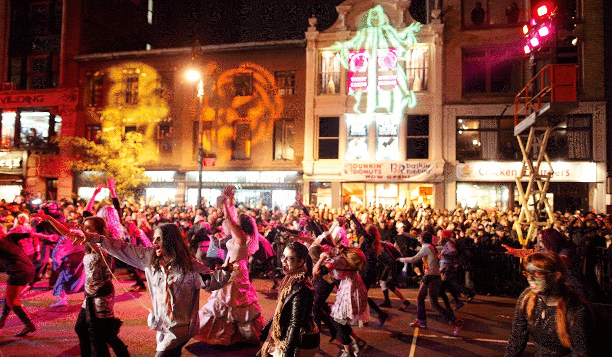 Halloween-paraden på Manhattan er et høydepunkt for mange.