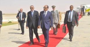 عودة رئيس الجمهورية - أرشيف الموريتانية